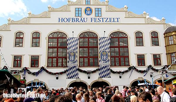 Zelte Zum Oktoberfest : Hofbräu festzelt zelte oktoberfest tische und